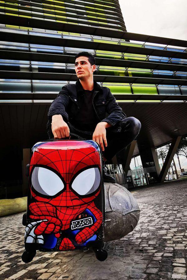 Valigia SPIDER MAN Trolley Cabina Mano Online Regalo Originale TOKYOTO LUGGAGE