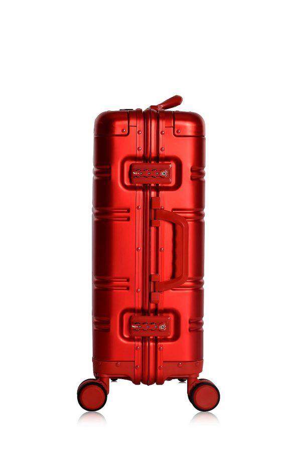 Valigie In Alluminio Premium Trolley da Cabina TOKYOTO LUGGAGE model RED SKULL