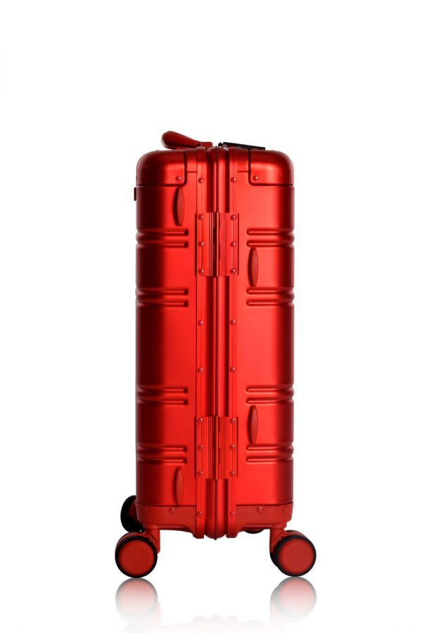 Valigie In Alluminio Premium Trolley da Cabina TOKYOTO LUGGAGE model RED SKULL