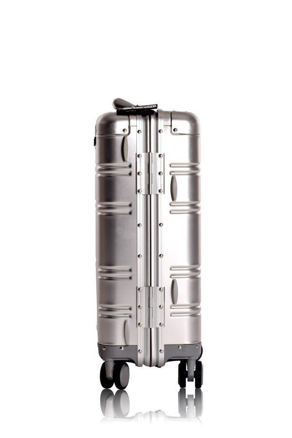 Valigie In Alluminio Premium Trolley da Cabina TOKYOTO LUGGAGE model SILVER SKULL