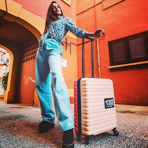 Valigia da cabina per bambini Beige Tokyoto Luggage