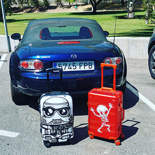 Valigia da cabina per ragazza bambini Tokyoto Luggage 4 (2)