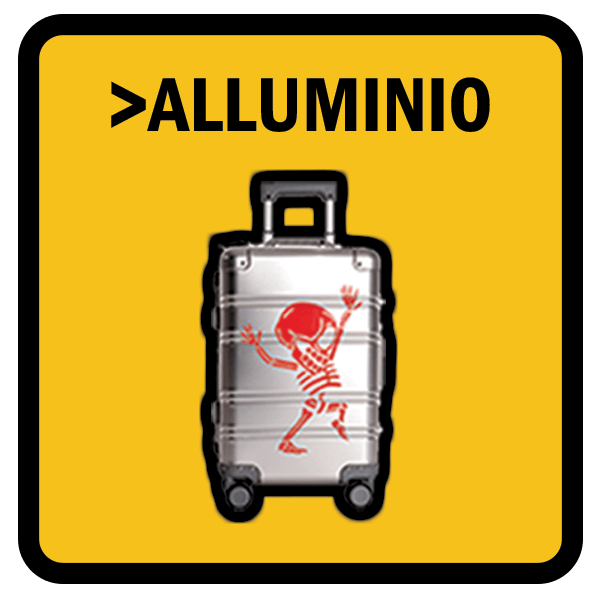 Trolley Alluminio Valigia Cabina Bagaglio Bambini Juvenile Caricatore Powerbank TOKYOTO Luggage